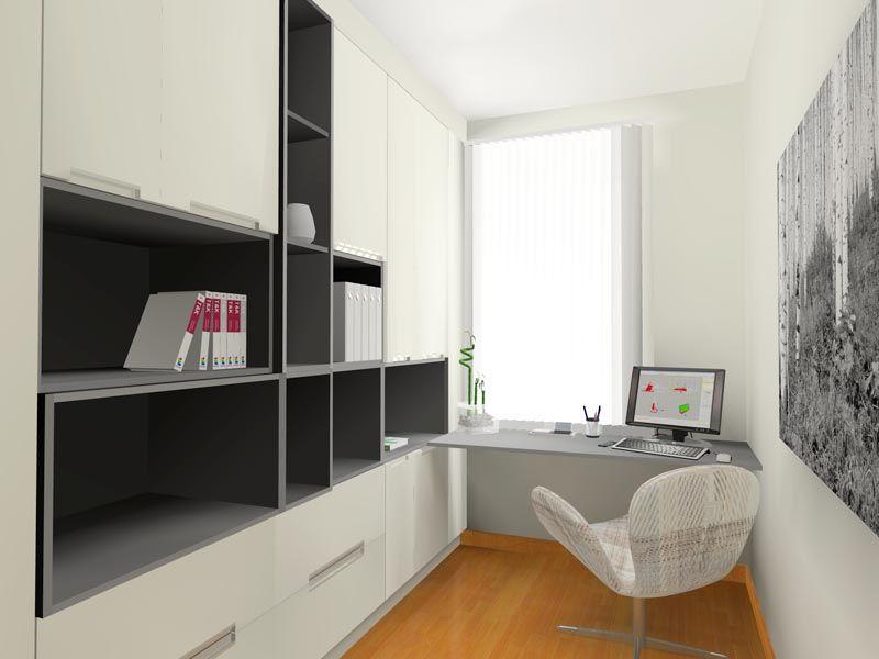 estudio en blanco y negro proyecto diseo interior online por uac por espacio decoracin