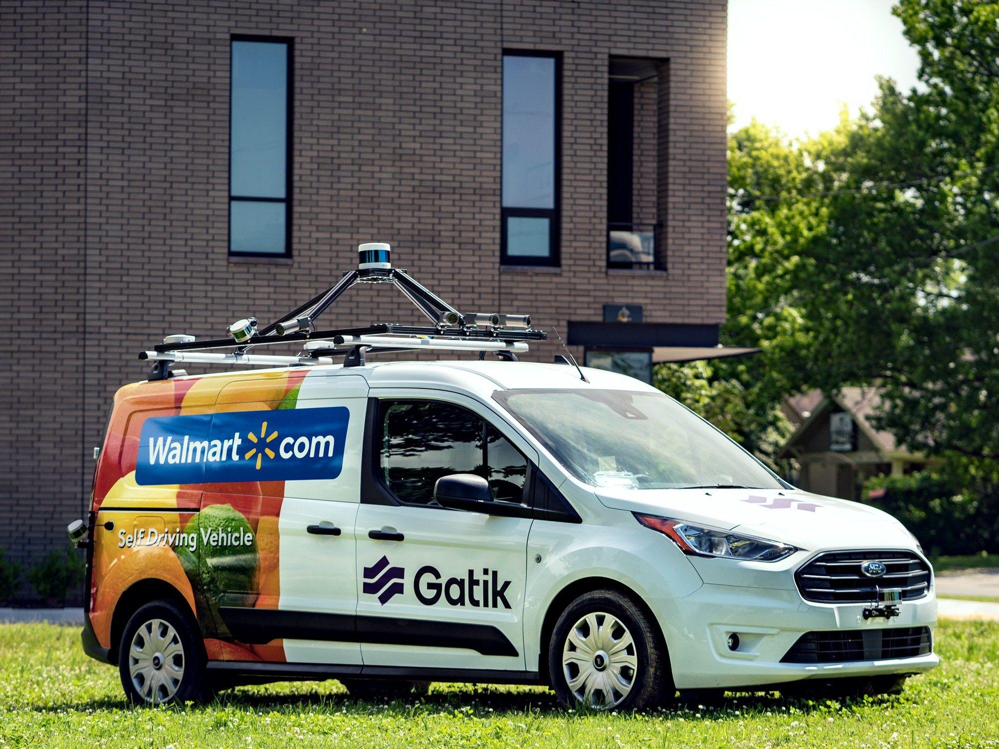 This Robo Van Startup Will Handle Walmart S Middle Mile Vans