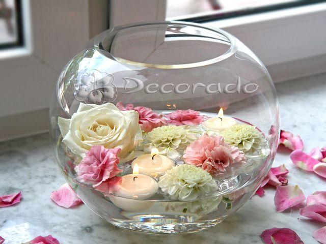Dekoracje Sal Weselnych Decorado Pl Decorative Jars Decor Glass Vase