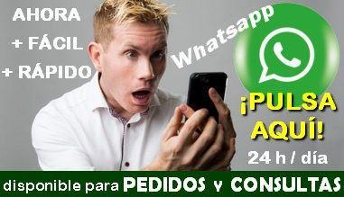 Ya tenemos Whatsapp disponible para nuestros clientes