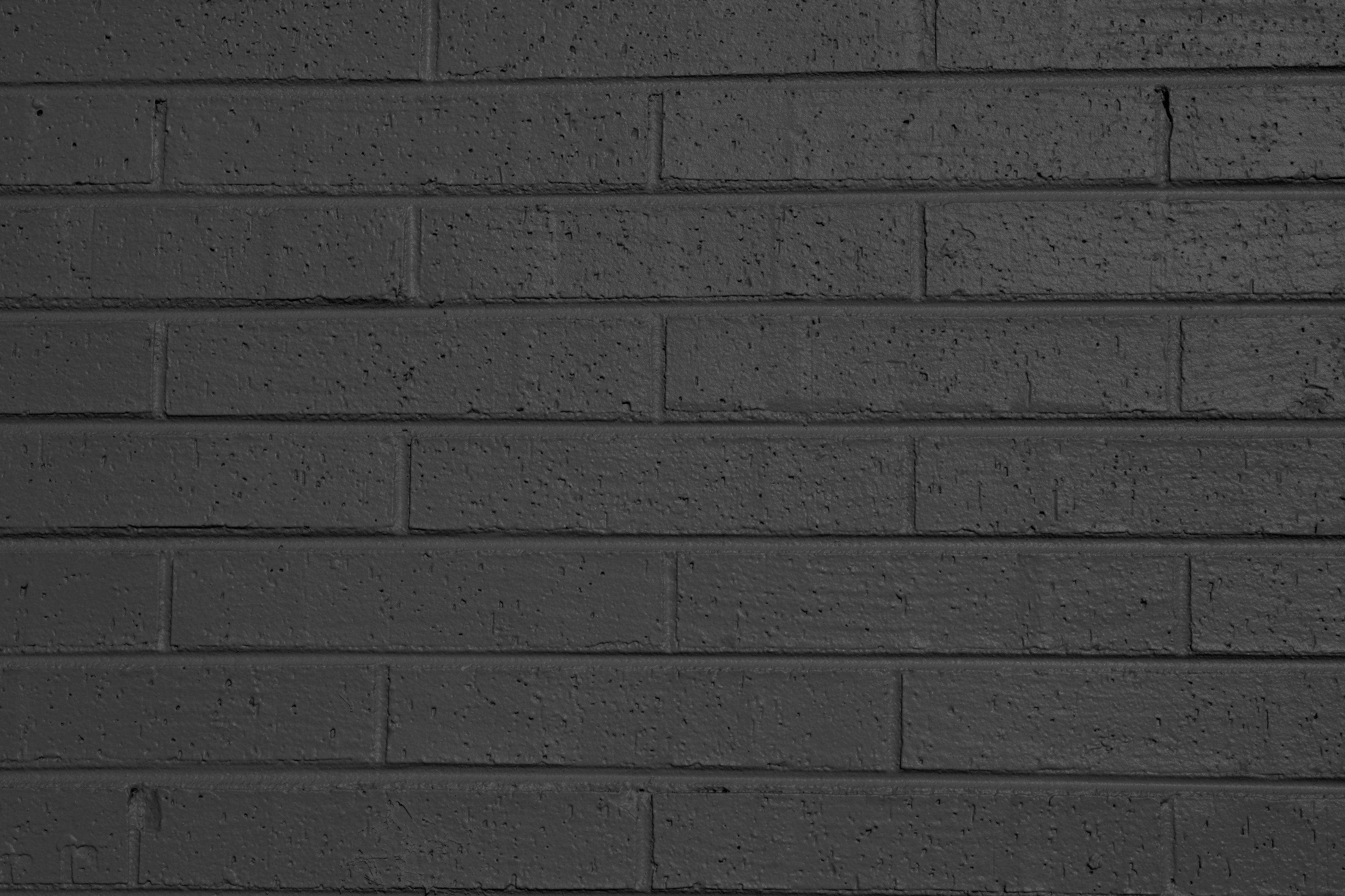 Charcoal Gray Painted Brick Wall Texture Painted Brick Walls