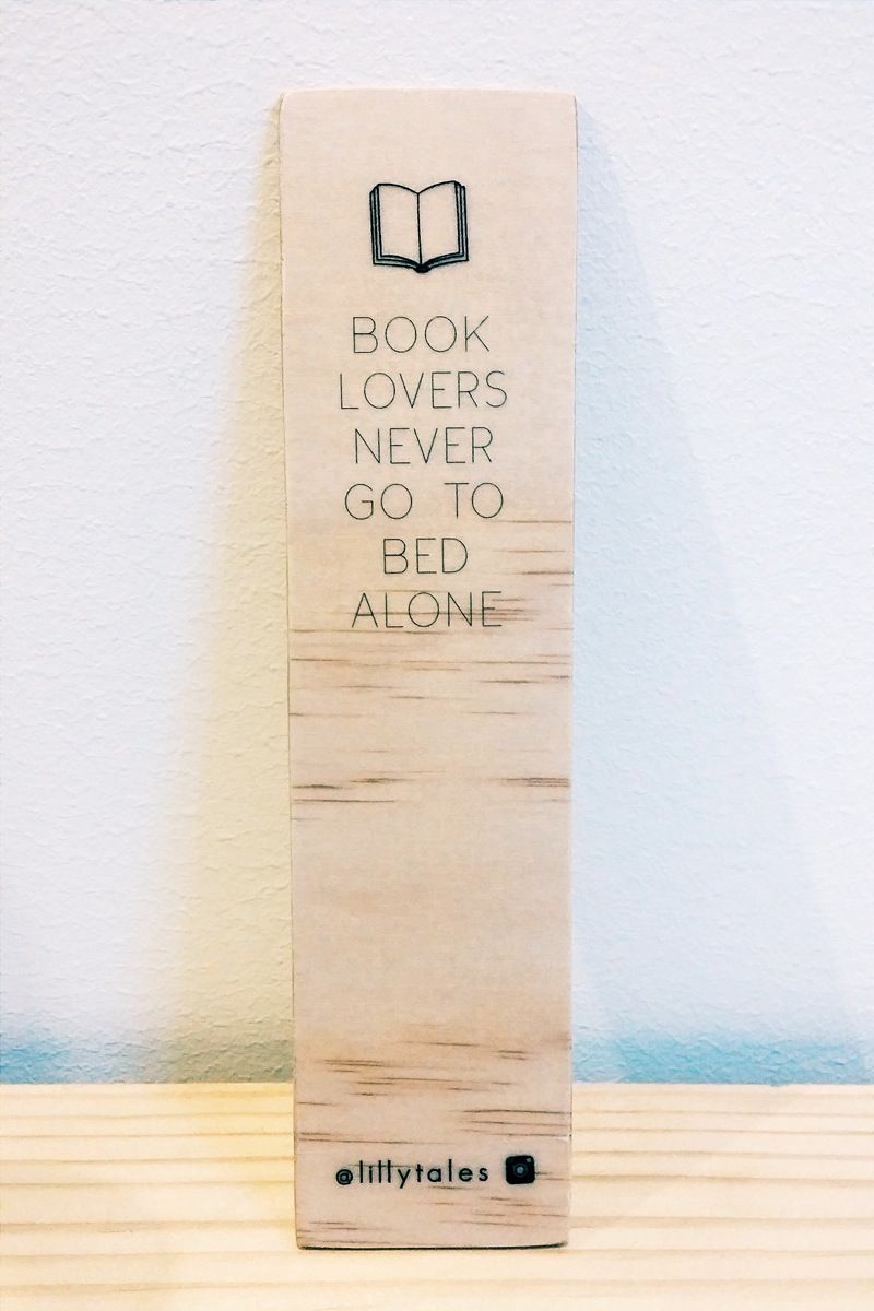 Book Lover Wooden Bookmark Bookmarks Handmade Bookmarks For Books Book Lovers