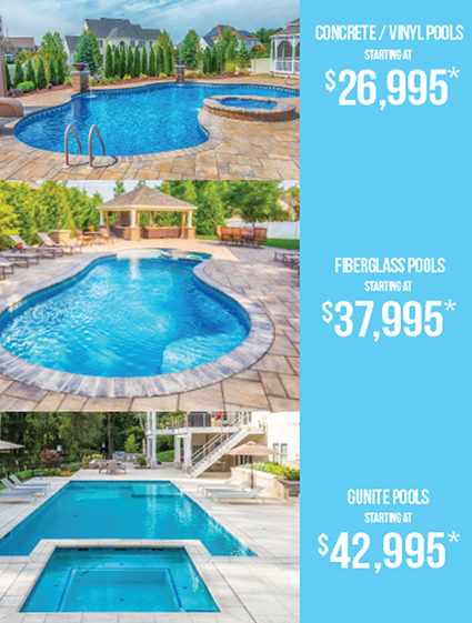 Inground Pool Sale We Ve Got The Perfect Fit For Your Yard And Your Lifestyle If In 2020 Beautiful Pools Backyard Pools Backyard Inground Backyard Pool Designs