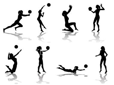 File types included are ai eps and jpg sports pinterest volleyball volleyball training - Volleyball geschenke ...