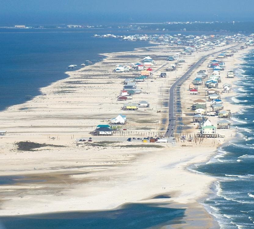 Dauphin Island Beach: Dauphin Island Alabama, Vacation