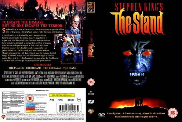 Stephen King S The Stand 1994 I Prefer The Original Release Over The Unexpurgated Version I Ve Read Both The Stand Movie Dvd Covers How To Memorize Things