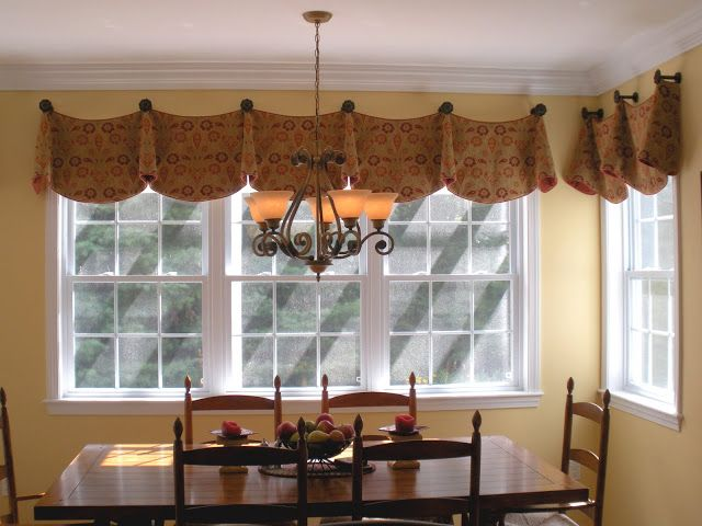 Newengland Style Com Valance Window Treatments Dining Room Windows Kitchen Curtains And Valances