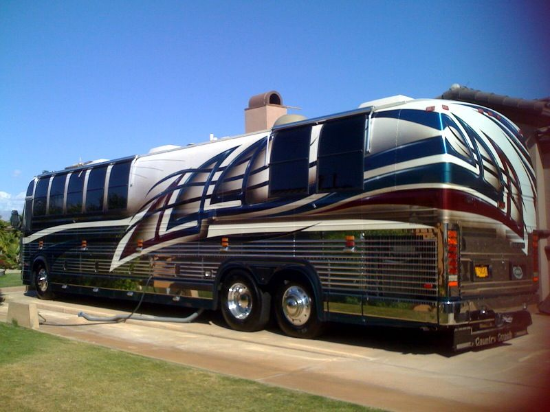 1997 Prevost Country Coach Conversion Recreational Vehicles Motorhome Luxury Motorhomes