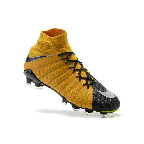 quality design 53f6b 25c4c Salg Nike Hypervenom Fodboldstøvler - Bedst 2017 Nike Hypervenom Phantom  III DF FG Orange Gra Fodboldstovler