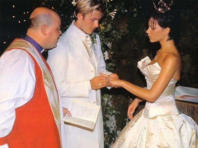 The Beckham's Wedding | Posh Spice | Beckham wedding ...