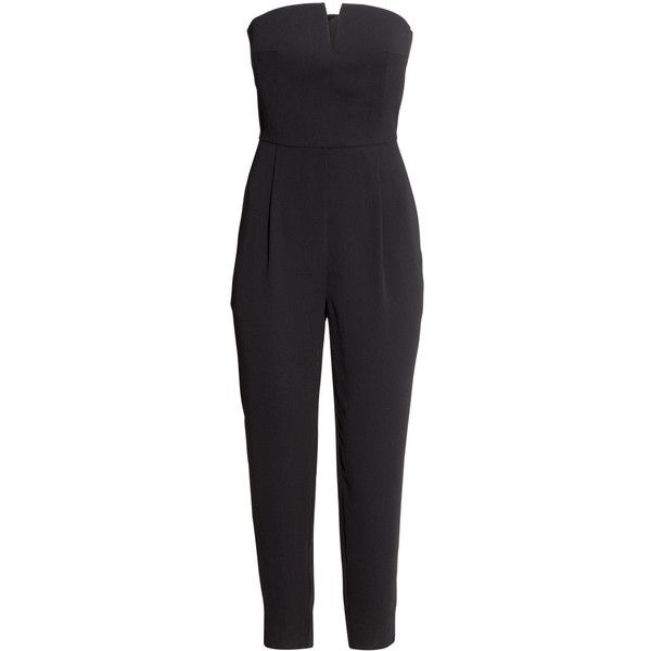 latest selection of 2019 crazy price outlet for sale H&M Strapless jumpsuit ($31) ❤ liked on Polyvore featuring ...
