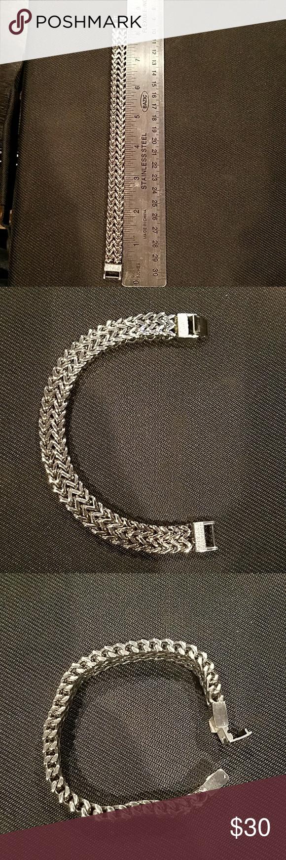 Stainless steel menus bracelet stainless steel menus bracelet with