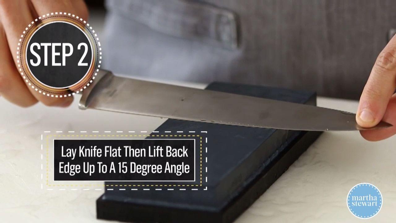 Sharpen your kitchen knife kitchen tricks food recipes
