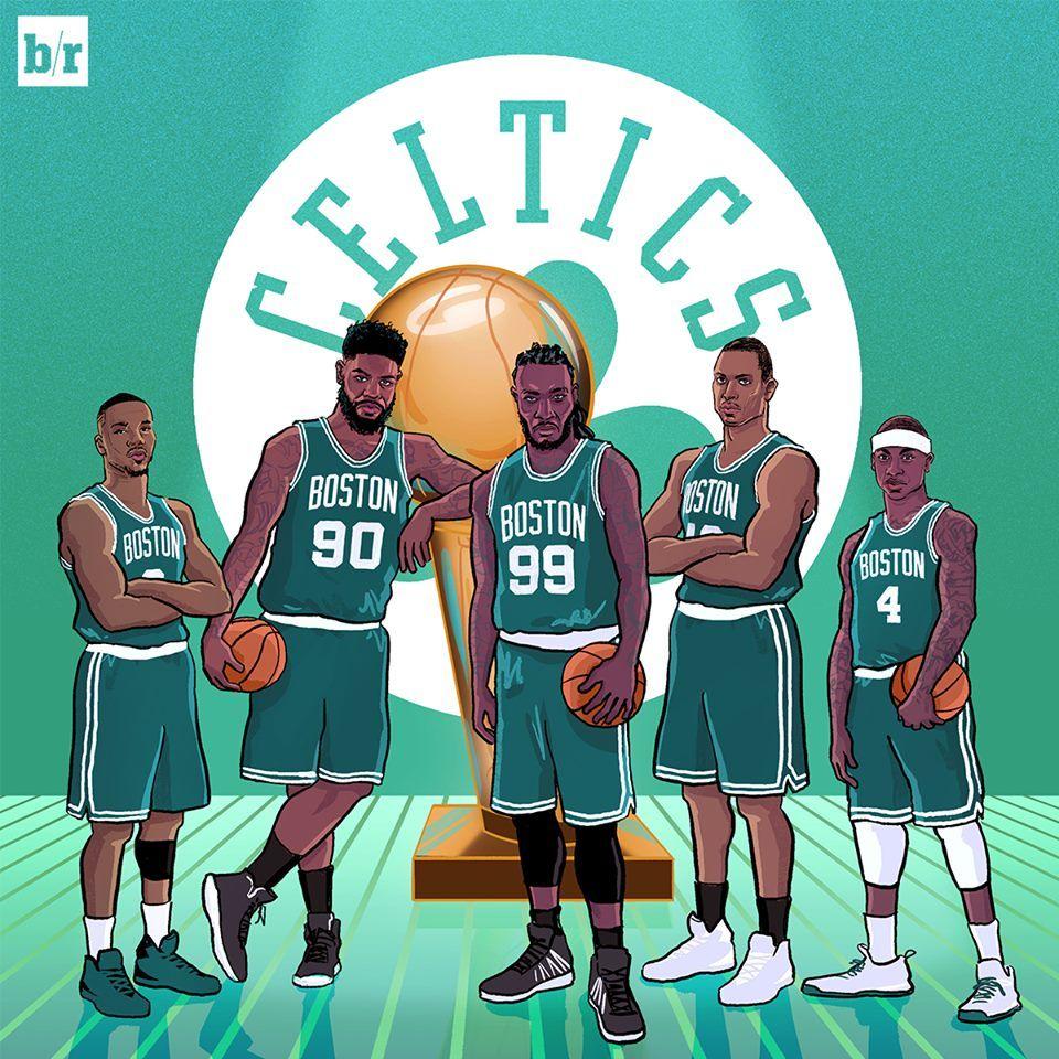 Boston Celtics Tumblr Boston Celtics Nba Artwork Nba Legends