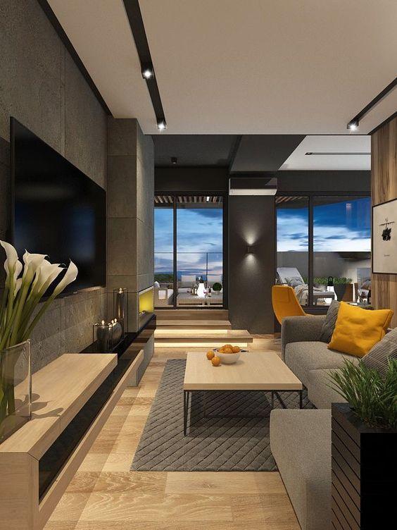 Get Inspired Visit Www Myhouseidea Com Myhouseidea Interiordesign Interio Luxury Homes Interior Contemporary Living Room Design Living Room Design Modern Normal living room interior design