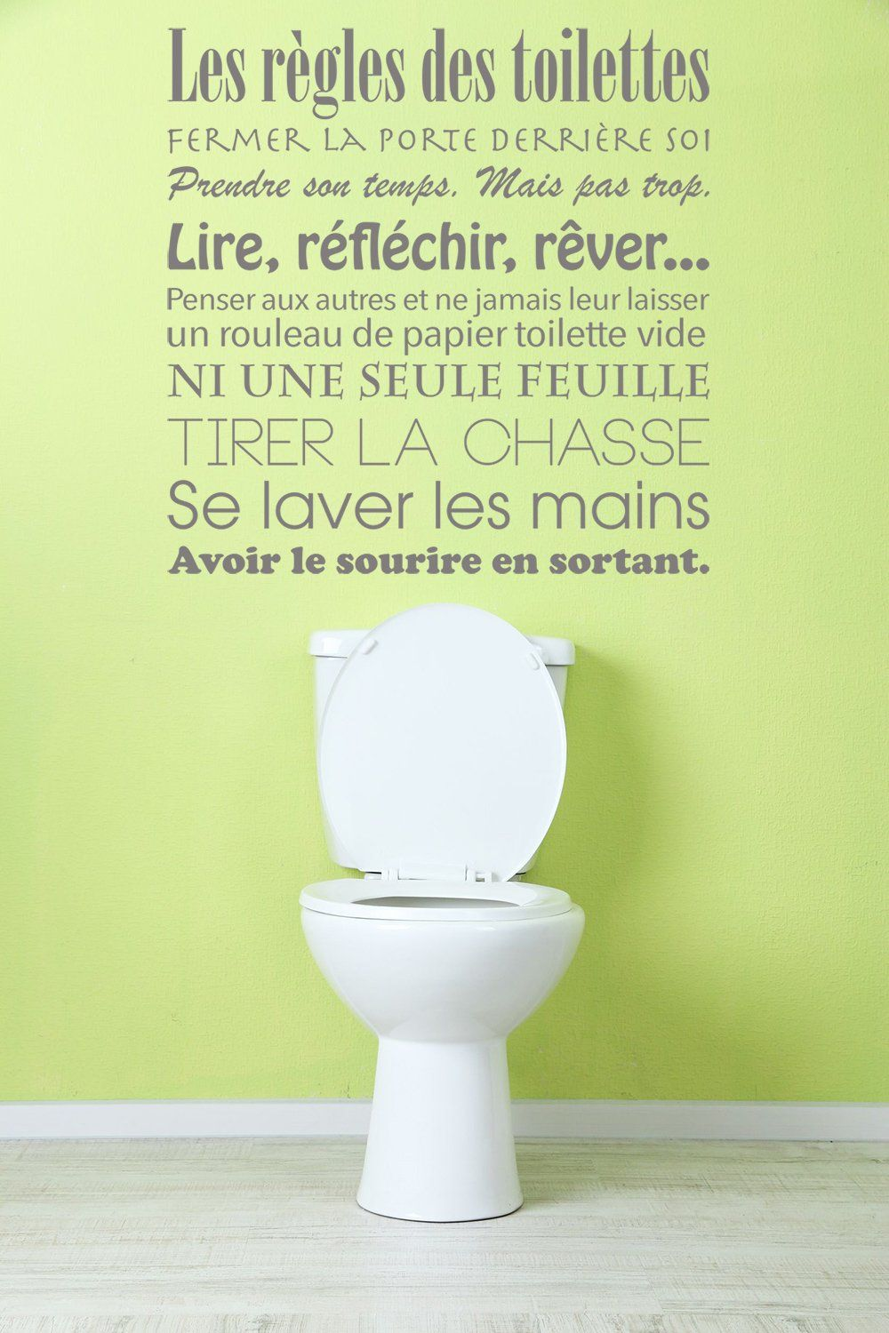 Pin Op Citations Toilettes