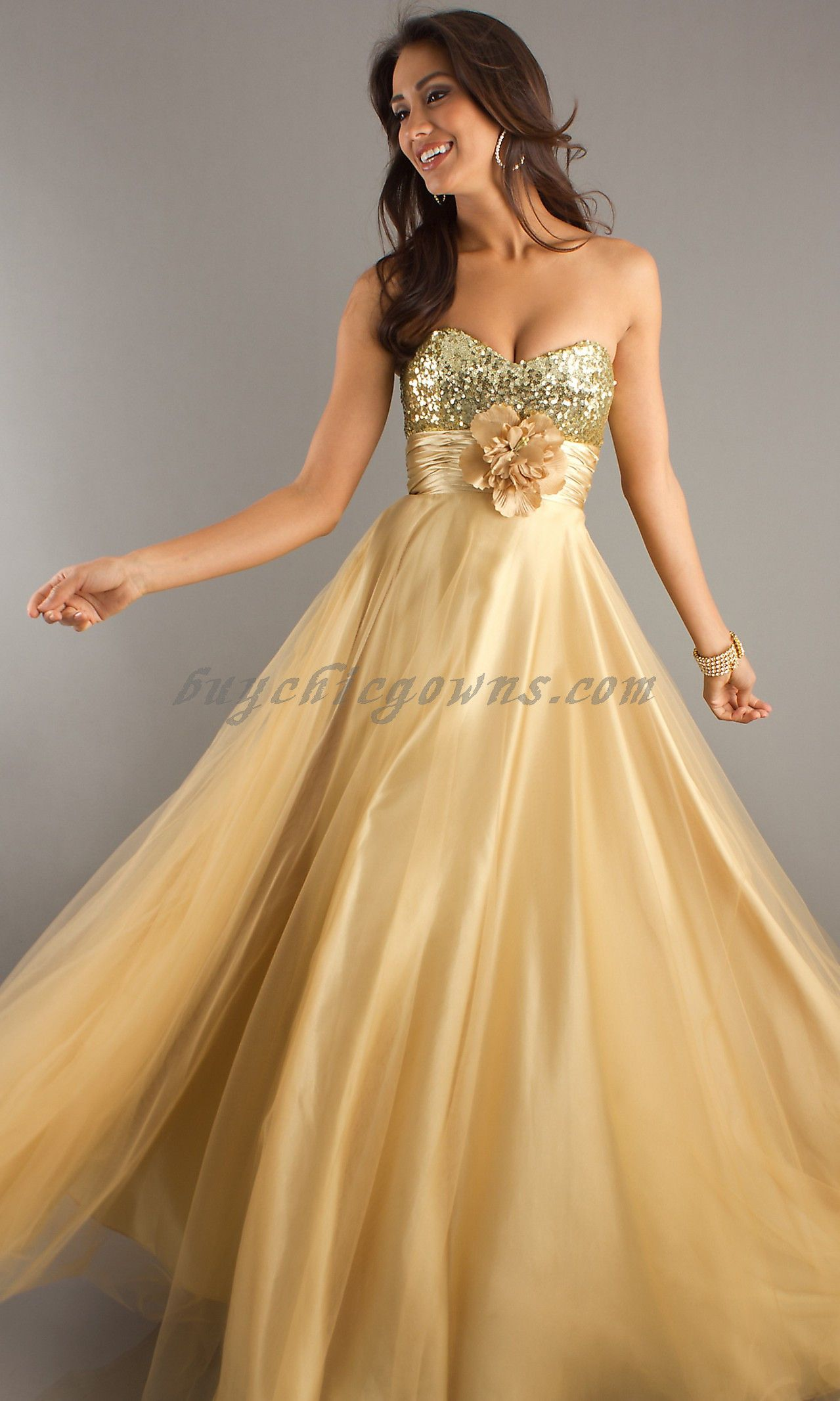 Designer evening dresses new collection long strapless sweetheart