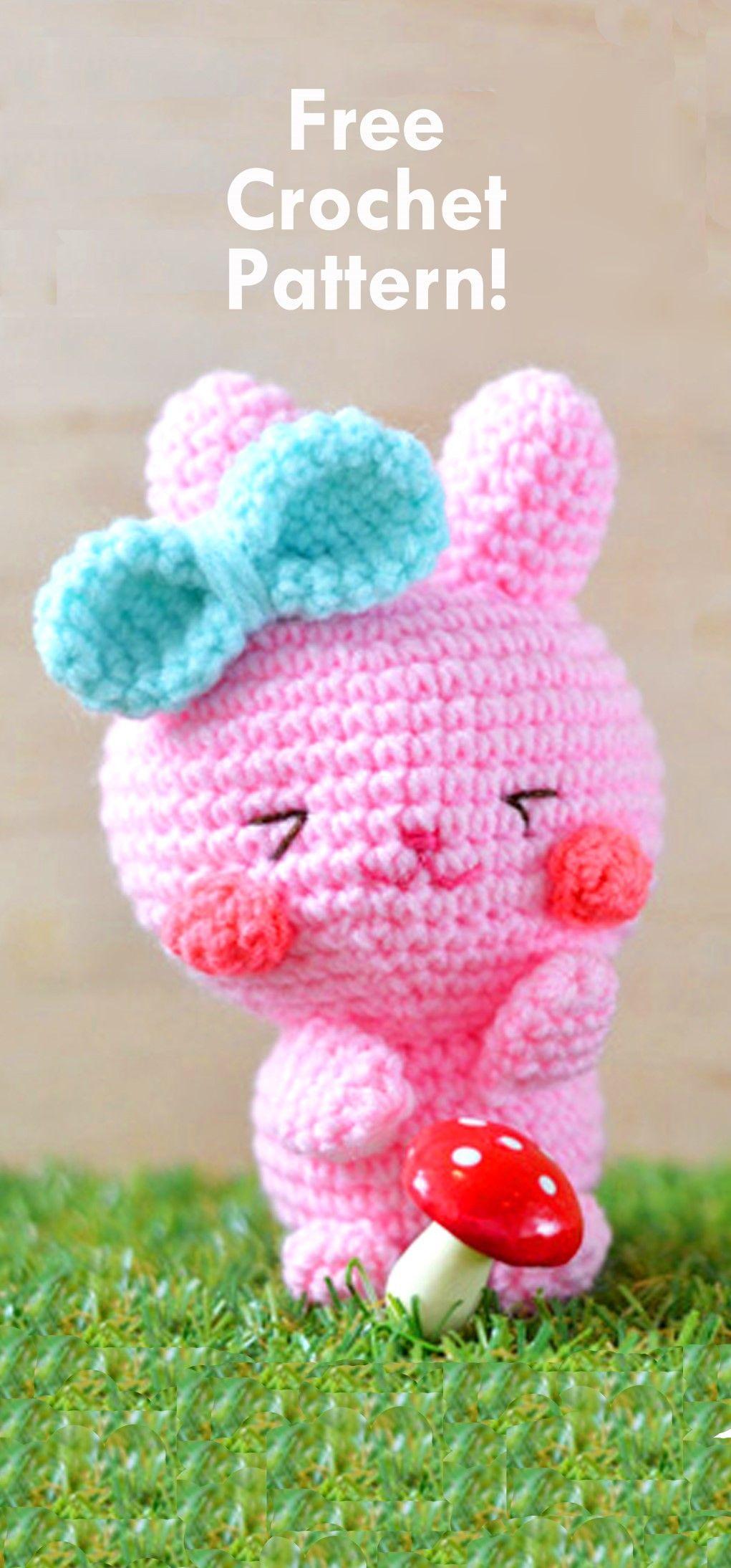 Easter Bunnies: Free Crochet Patterns!   Easter bunny crochet ...