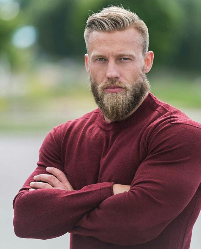 beefy blonde beard beard treatment pinterest m nner bart frisur und bart und b rte. Black Bedroom Furniture Sets. Home Design Ideas