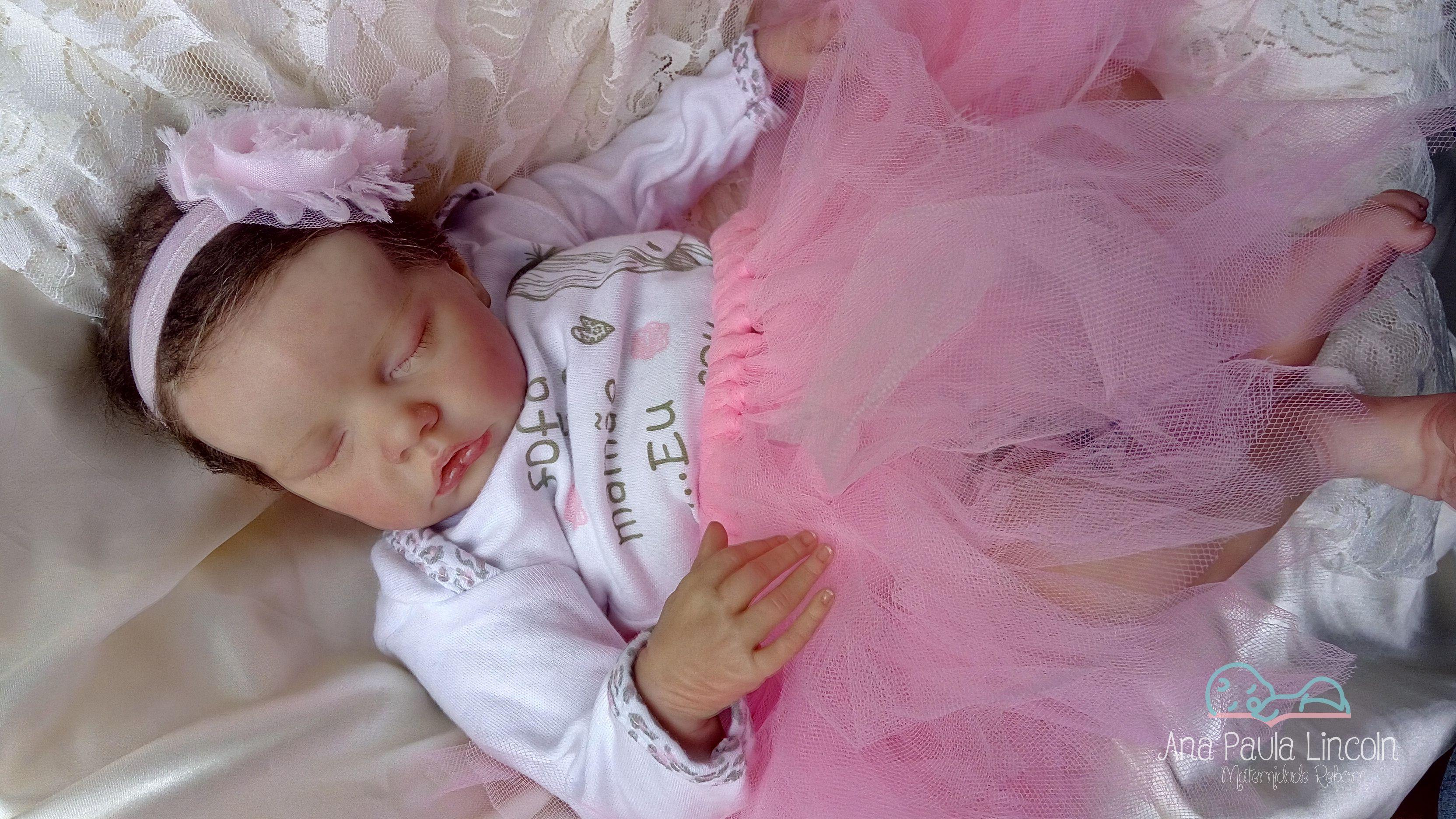 Bebe Reborn Melissa Boneca Reborn Original Twin B Corpo De Pano