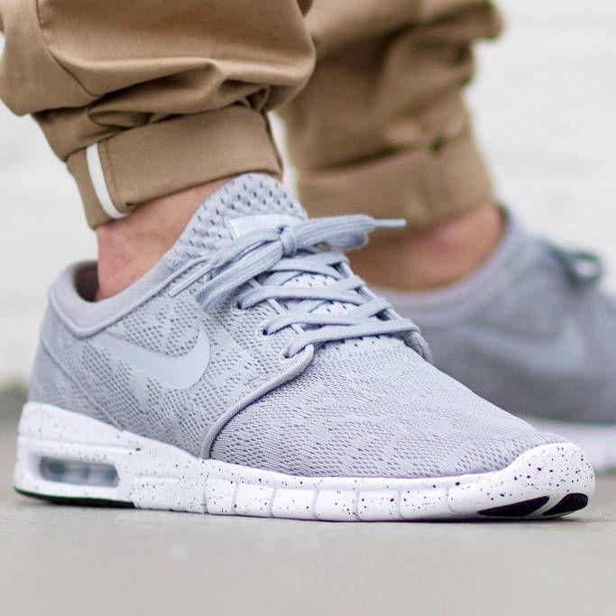 08ed57e593 R$ 269,91 Nike SB Stefan Janoski Max (Wolf Grey / Wolf Grey - White ...