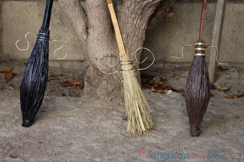 How to Make American Girl Harry Potter Brooms