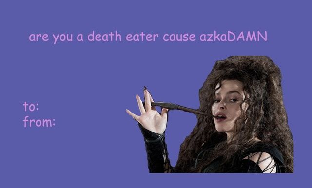 14 Valentineu0027s Day Cards For The Harry Potter Lover In Your Life