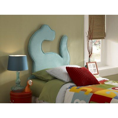 Fun And Funky This Dinosaur Headboard Is Sure To Be A Hip