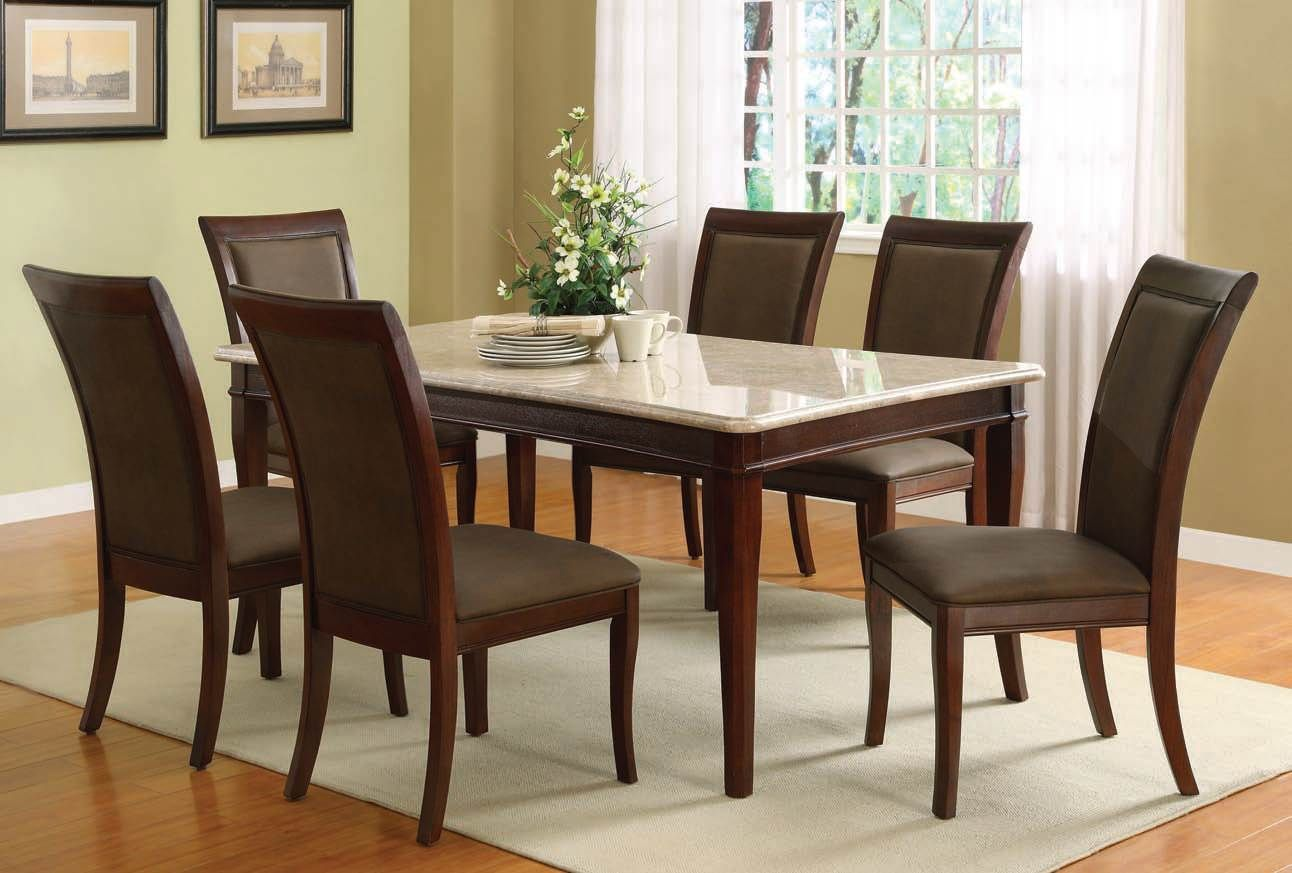 24+ Granite dining room table and chairs Ideas