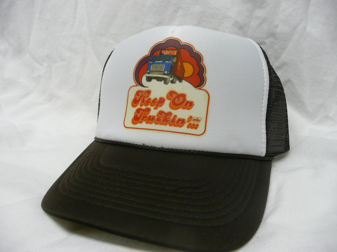 Ryder Keep on Truckin' Trucker Hat - Automobile, Trucks & more Hats