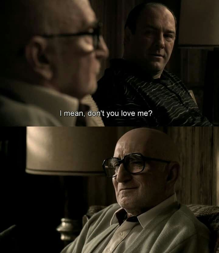 Pin By Michael Sederholm On The Sopranos Sopranos Quotes Sopranos Tony Soprano Quotes