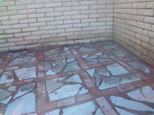 Garden Www Lovelylula Com Recycled Concrete Broken Concrete Concrete Patio