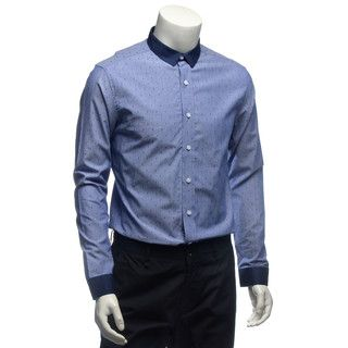 Buy 'YesStyle M – Long-Sleeve Dotted Shirt'