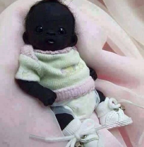 The Darkest Baby In The World Born In South (photo) - Politics - Nigeria | Black babies, Baby photos, African babies