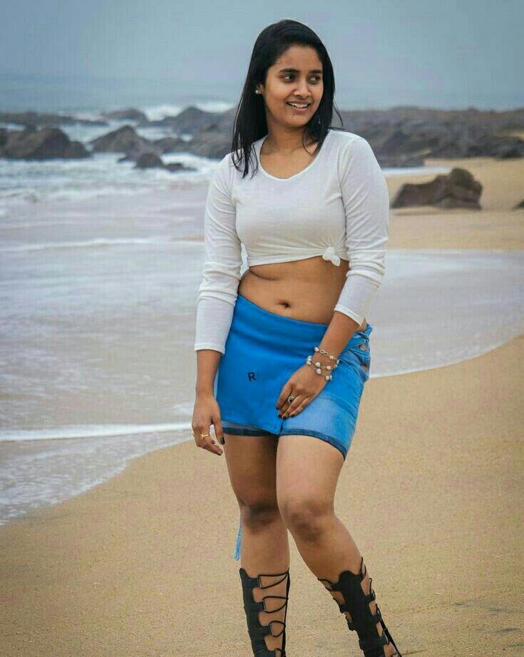 Short skirt girl naked india