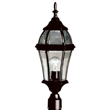 Townhouse Black 24 1 2 High Outdoor Post Light M6215 Lamps Plus Outdoor Post Lights Post Lights Lamp Post Lights