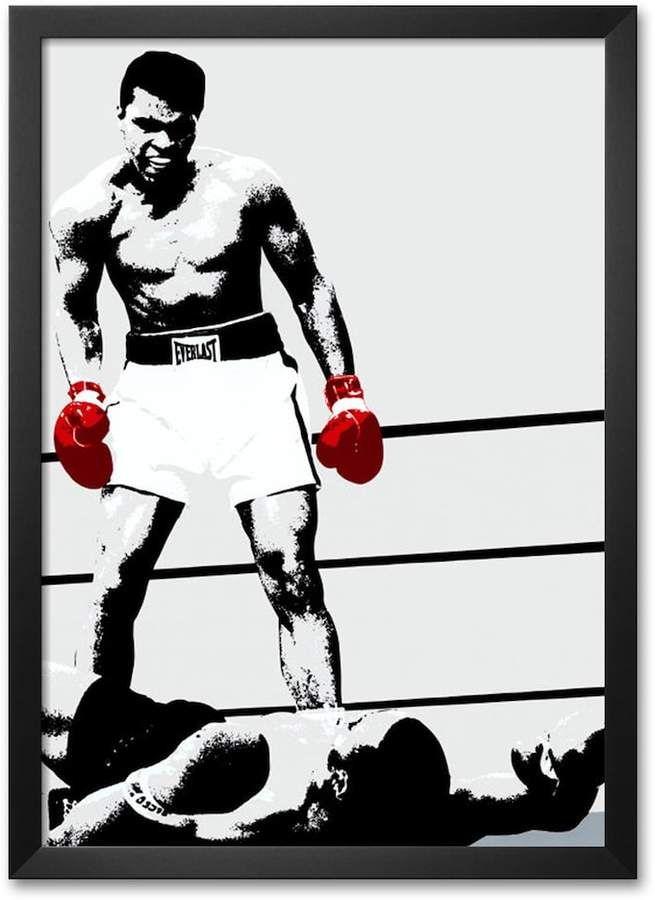 Art.com Muhammad Ali: Gloves Framed Art Print | The Greatest ...