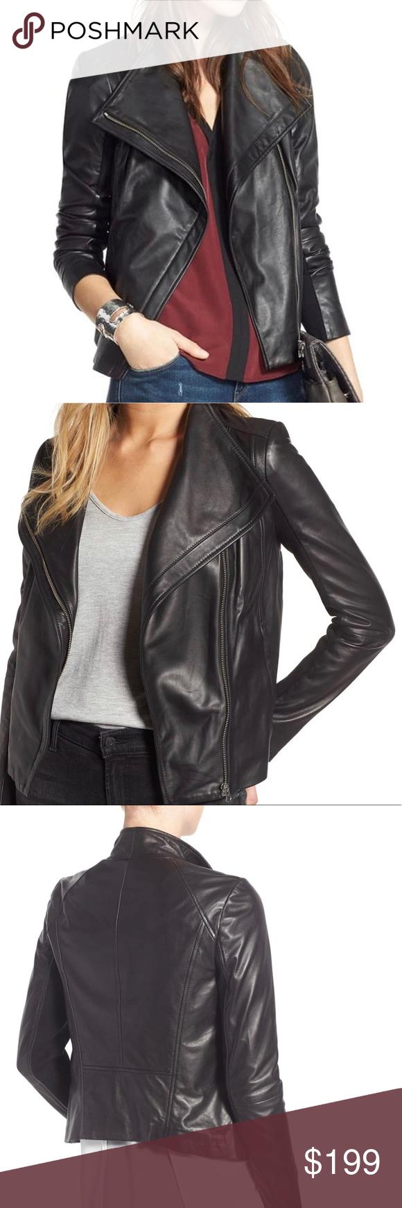 Trouve Chelsea28 Leather Moto Jacket Leather Moto Jacket Garment Labels Jackets [ 1740 x 580 Pixel ]
