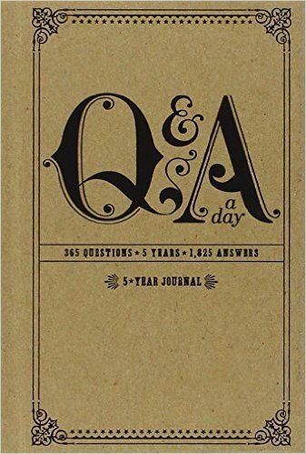 qa a day 5 year journal