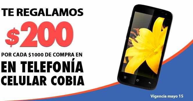 Comercial Mexicana promociones en telefonía celular