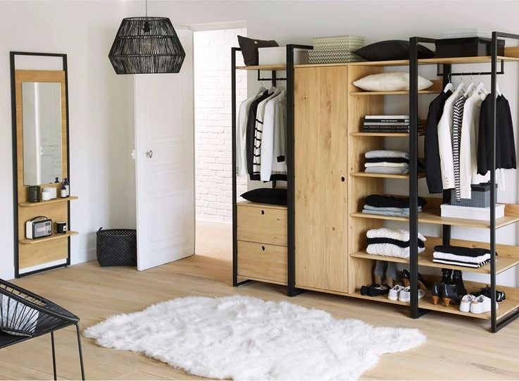 perchero vestidor estante cajon puerta modular hierro madera perchero vestidor y modulares. Black Bedroom Furniture Sets. Home Design Ideas