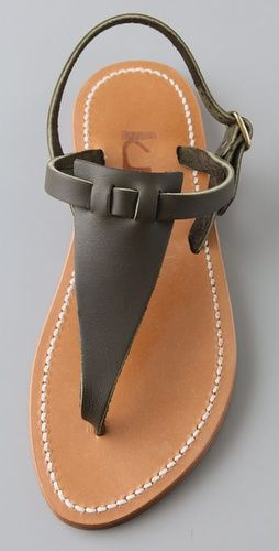 423e3a631d9 K. Jacques Cyrus Broad Thong Sandals