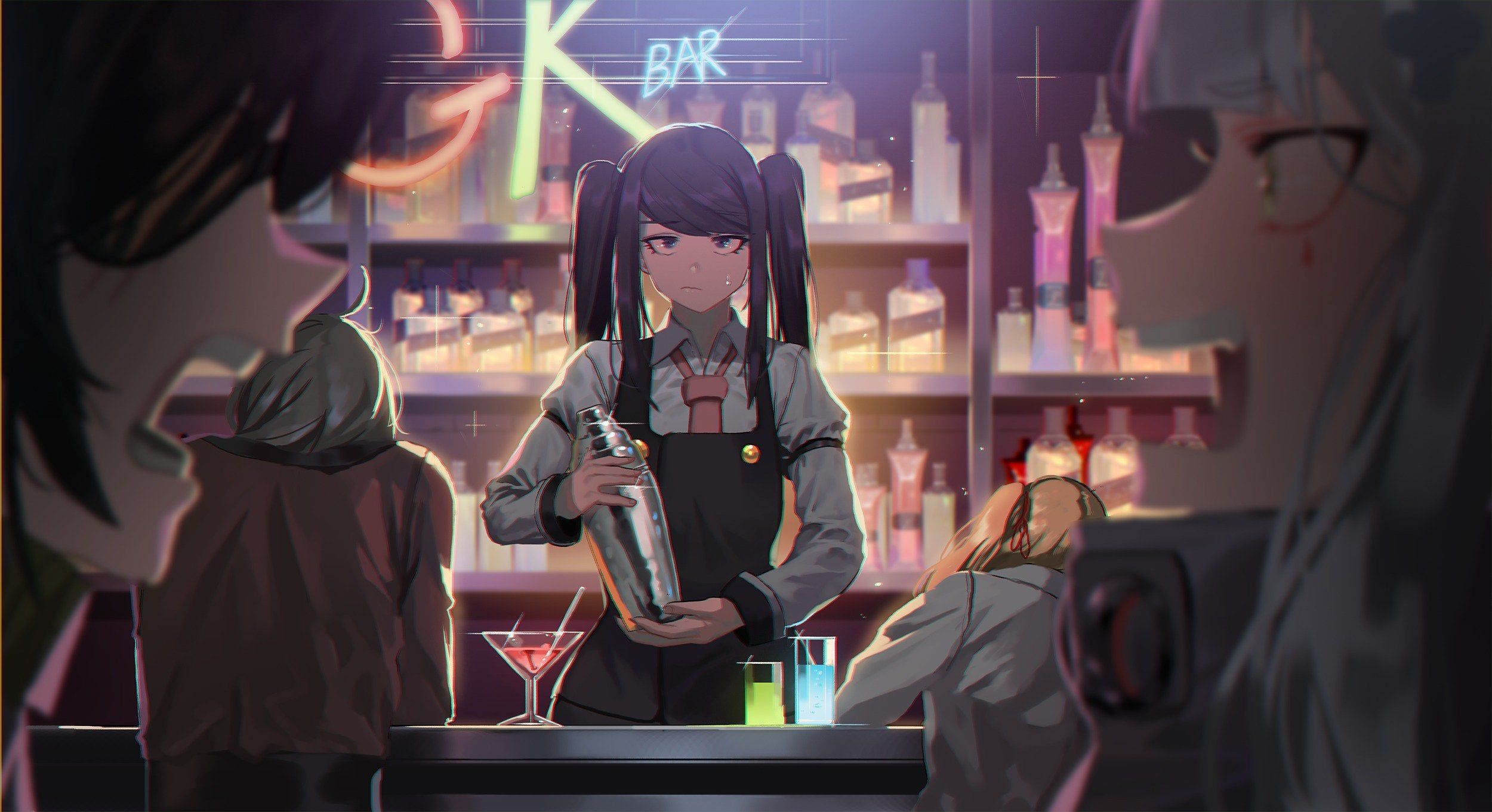 Time to Mix Drinks and Change Lives girlsfrontline