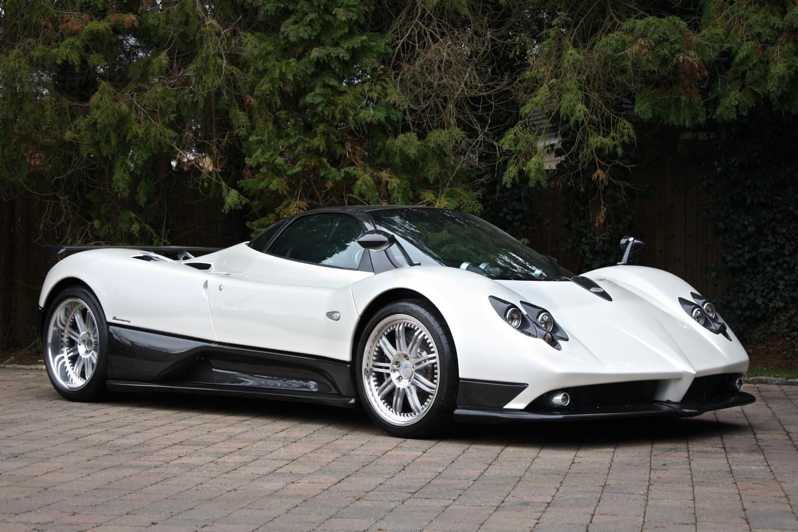 Pagani Zonda F Clubsport Coupe Amg Powered Manual Supercar