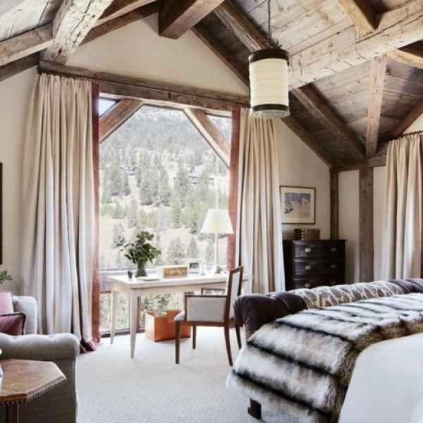 Schlafzimmer Vorhang Design \u2013 Raumgestaltung in 50 Ideen Tapete