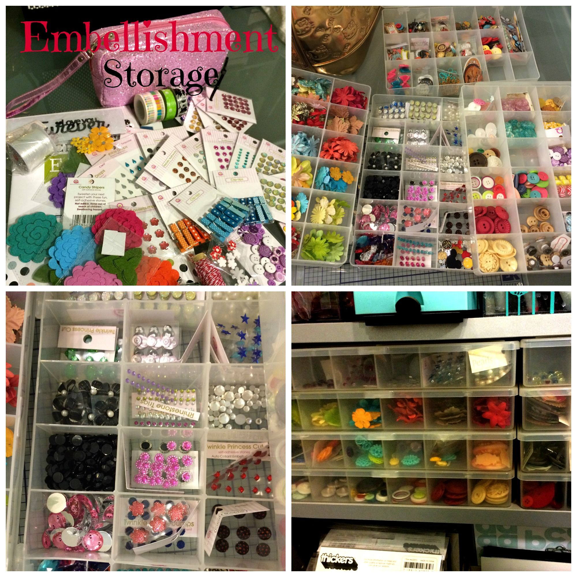 Embellishment Storage - Scrapbook.com
