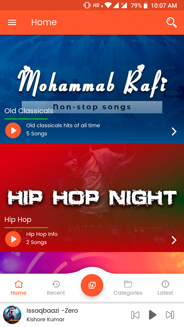 Android Music Player - Online MP3 (Songs) App | Website
