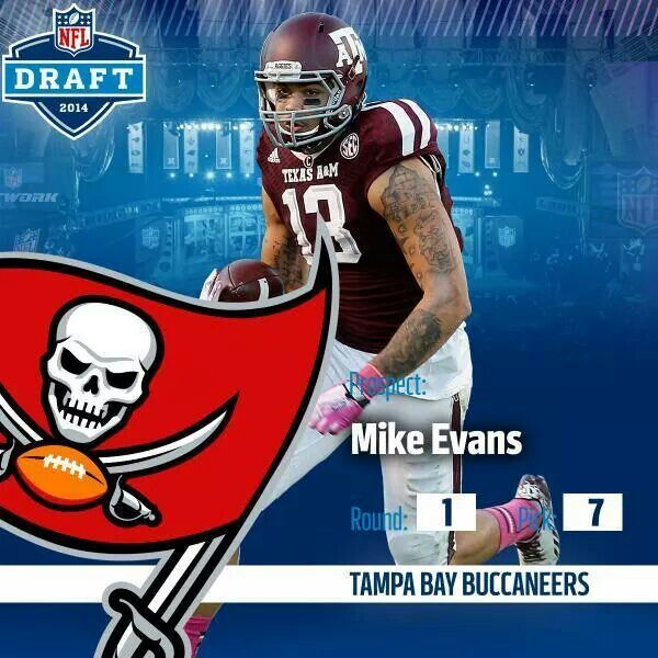 Welcome Mike Evans Your Now A Buccaneer Mike Evans Tampa Bay Buccaneers Buccaneers