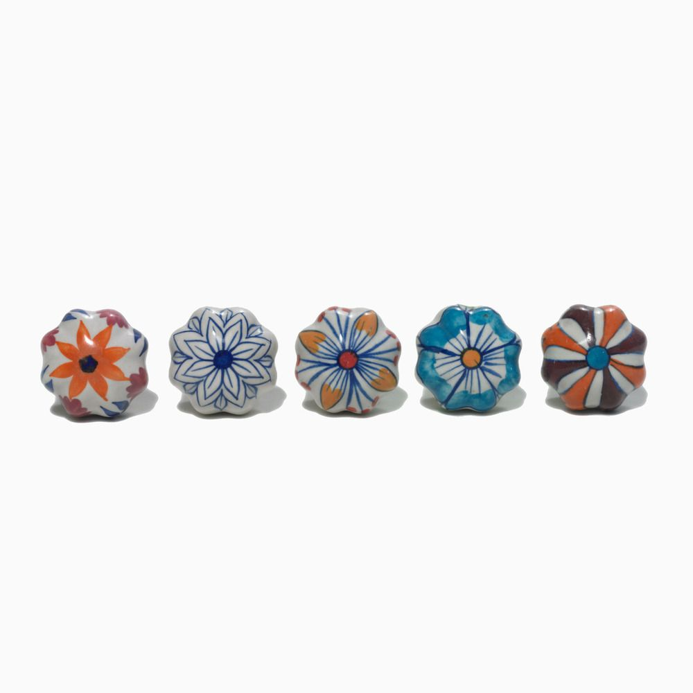 Hand-Painted Ceramic Doorknobs | Shop | Project Bly | For the Home ...
