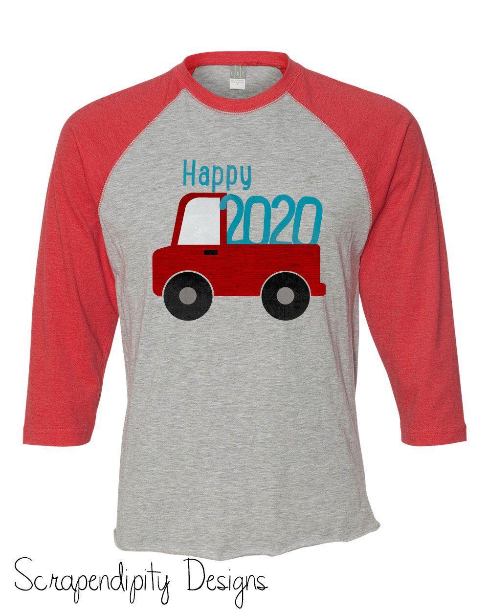 Toddler New Year Tshirt Happy 2021 Outfit Happy 2021 Shirt Etsy Raglan Shirts New Years Shirts Truck Shirts